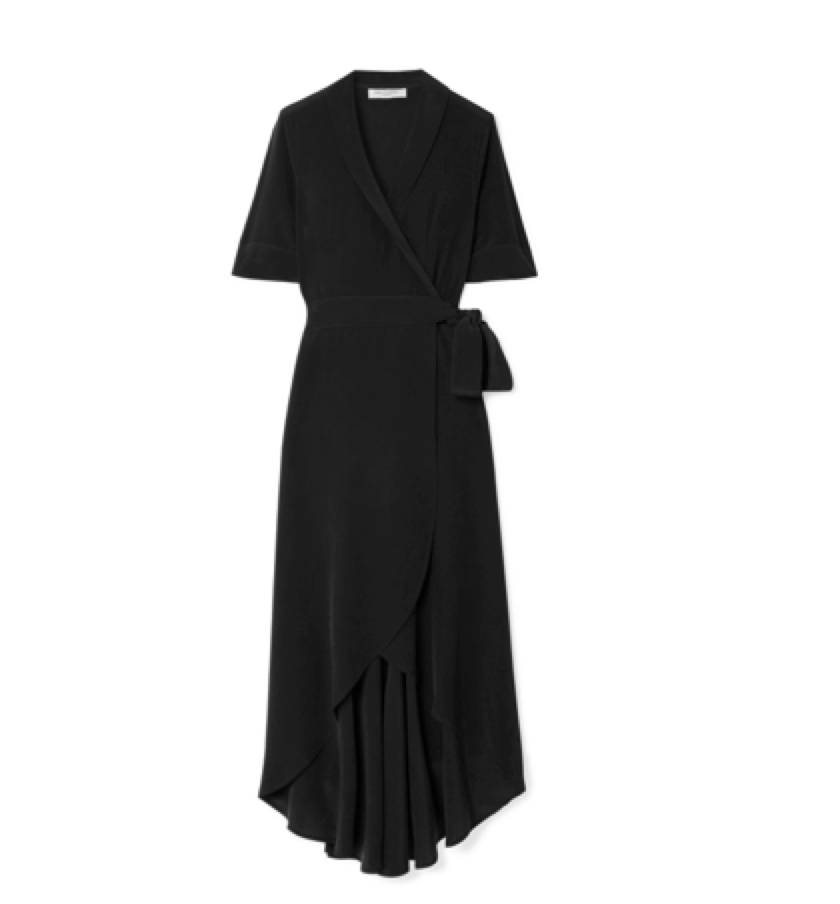 EQUIPMENT -  Wrap dress