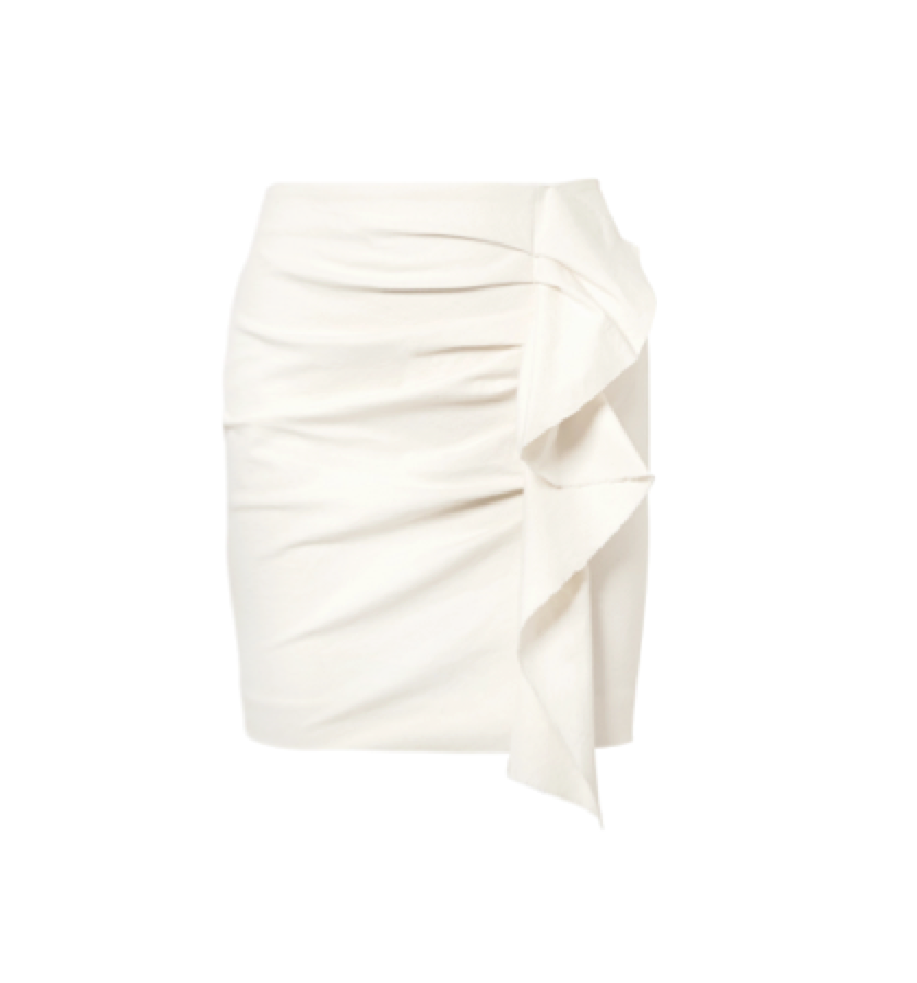 ISABEL MARANT -  White skirt