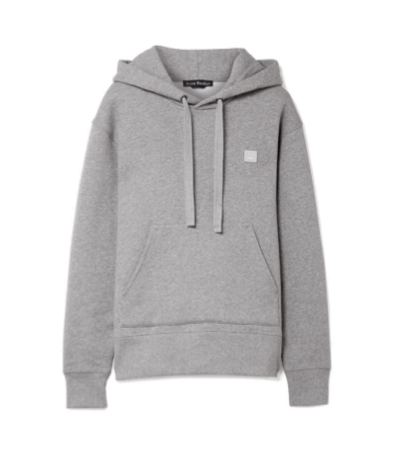 HOODIE -  ACNE basic sweat