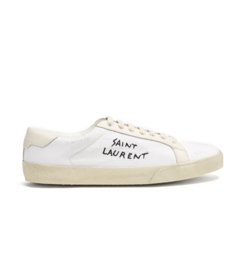 lUXE SNEAKER -  SAINT LAURENT trainer