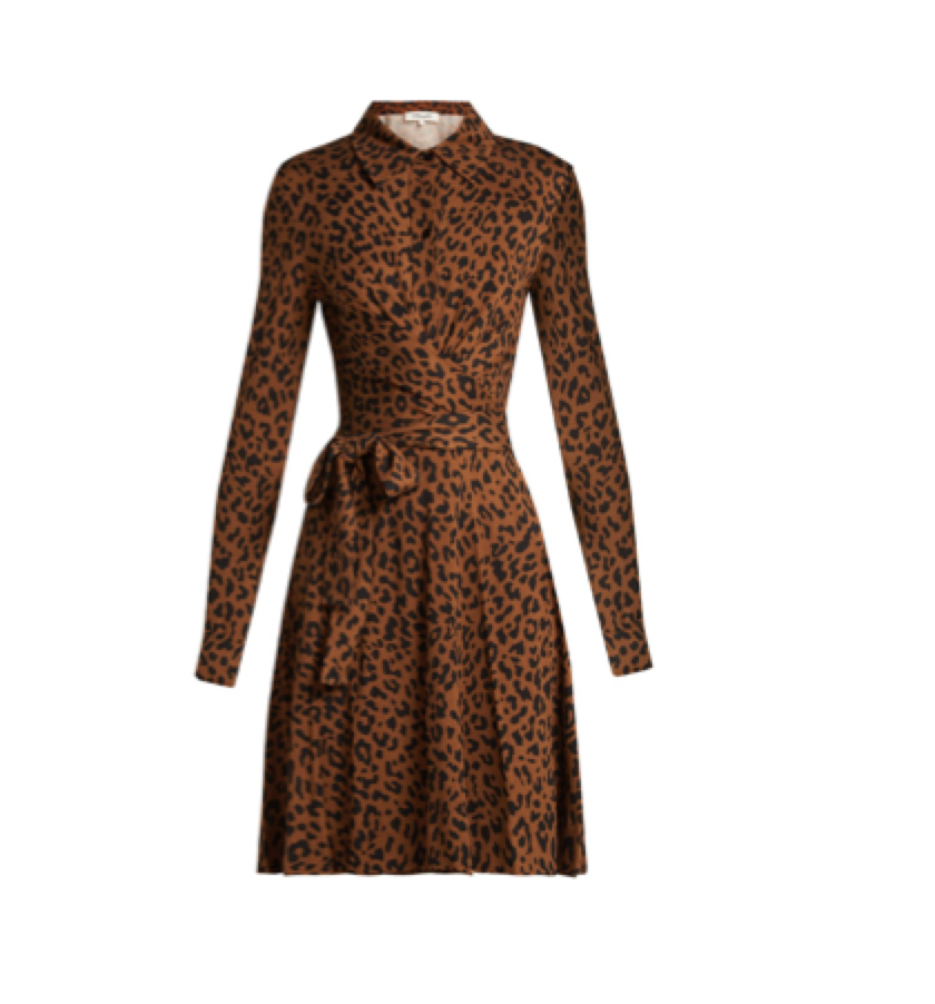 DIANE VON FURSTENBERG -  wrap dress