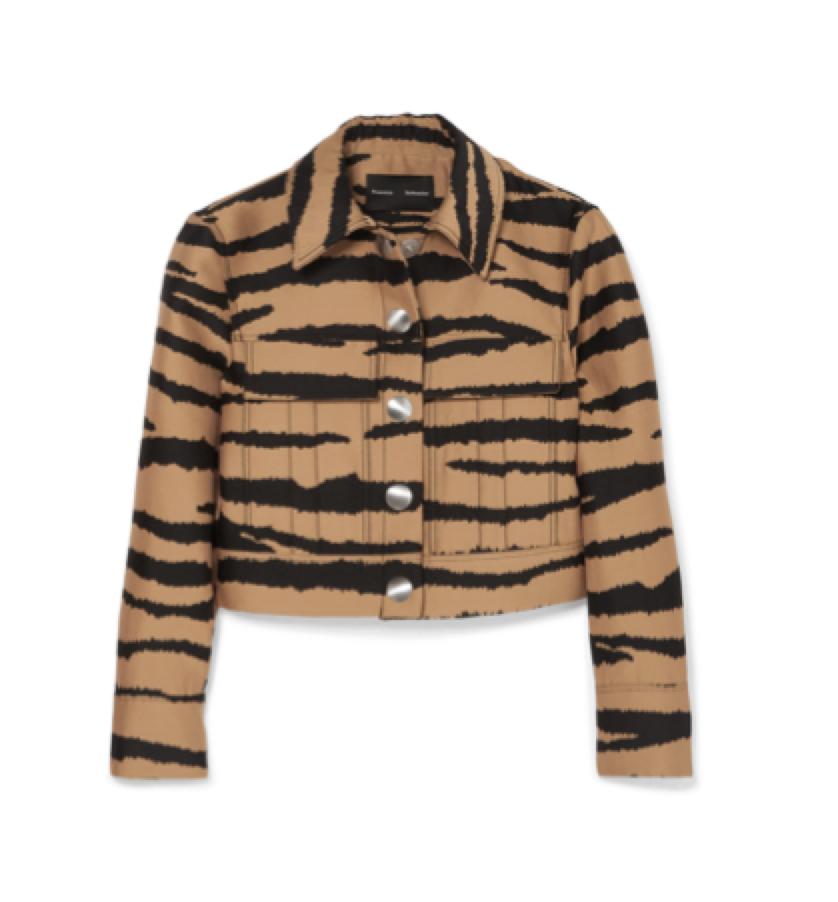 PROENZA SCHOULER -  tiger jacket