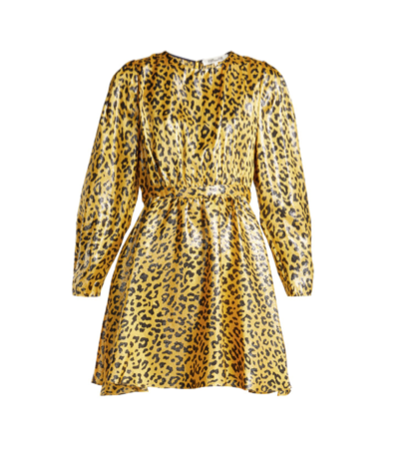 DIANE VON FURSTENBERG -  leopard dress