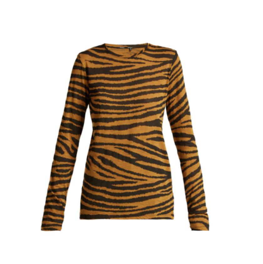 PROENZA SCHOULER -  tiger t-shirt