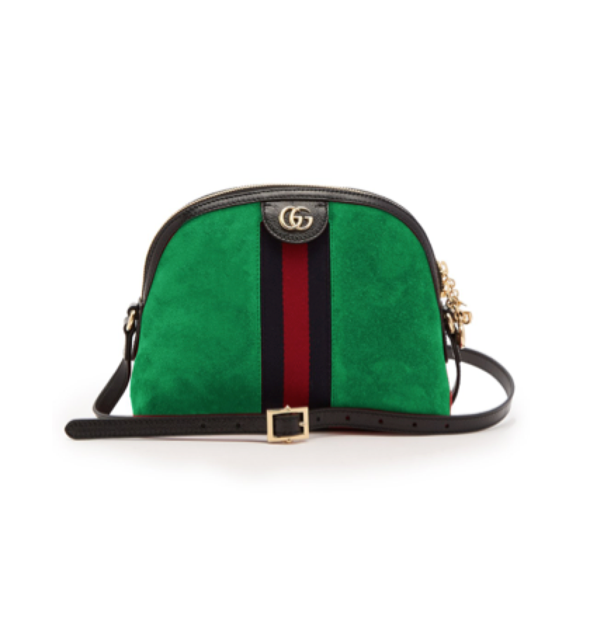 GUCCI -  Suede bag