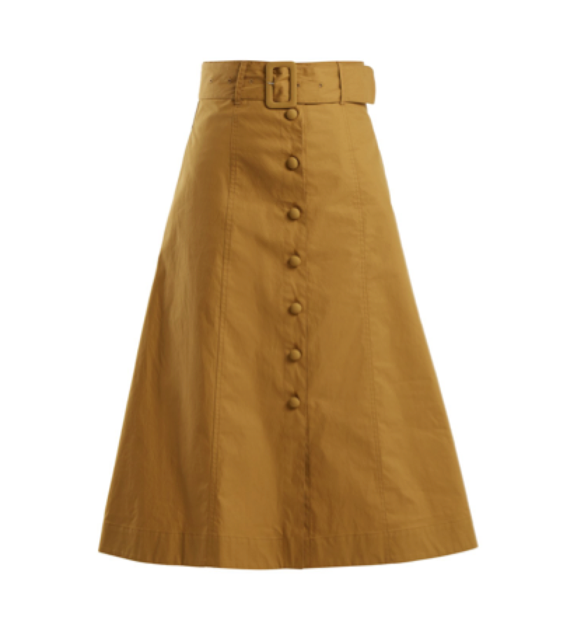 SEA-  Belted skirt