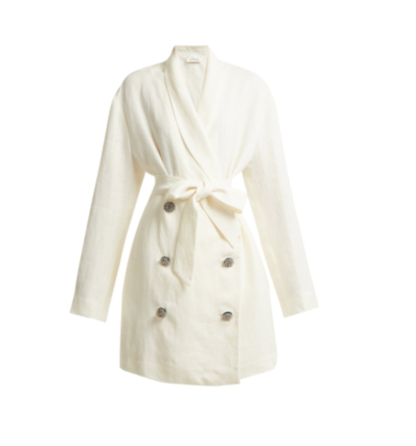 Attico -  linen oversized blazer