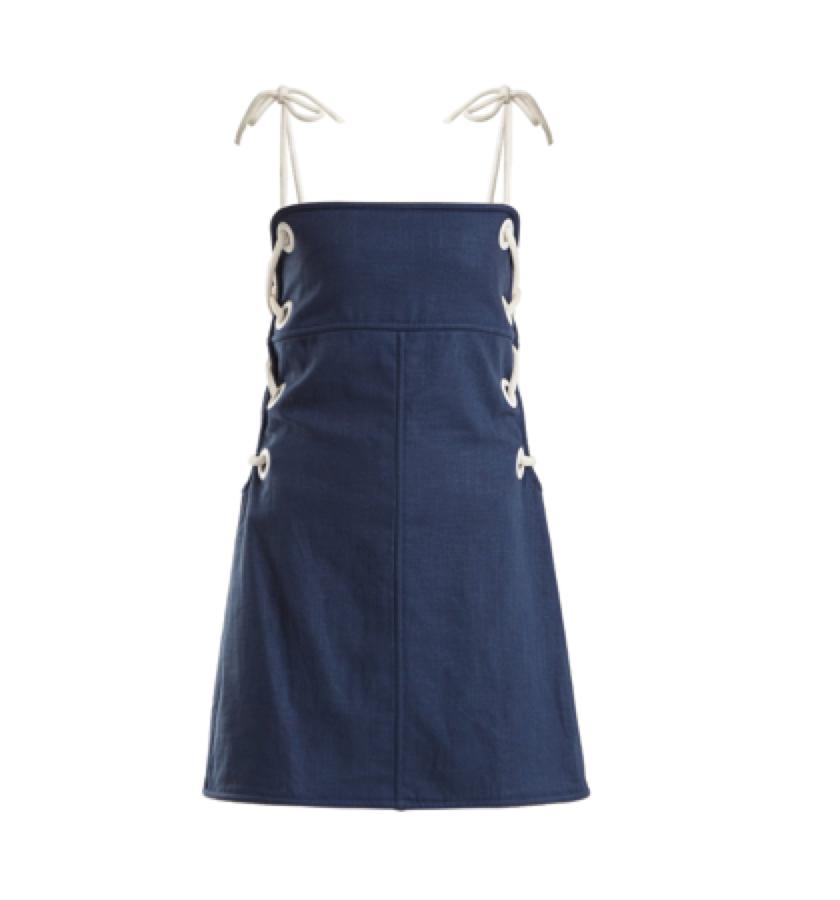 Staud -  eyelet dress