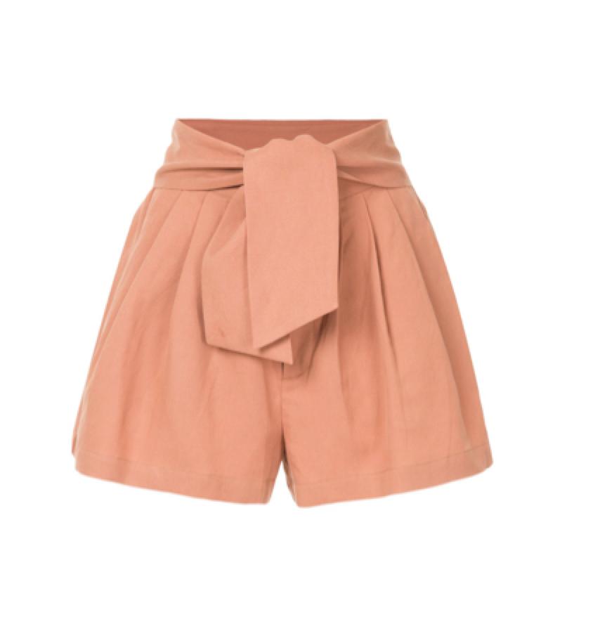 Ulla Johnson -  tie waist shorts