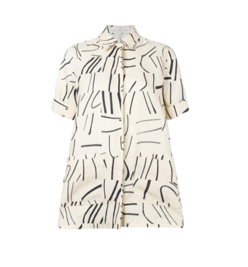 Victoria Victoria -  print shirt