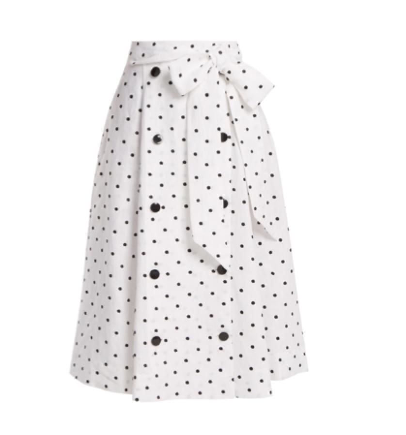 Lisa Marie Fernandez -  spot skirt