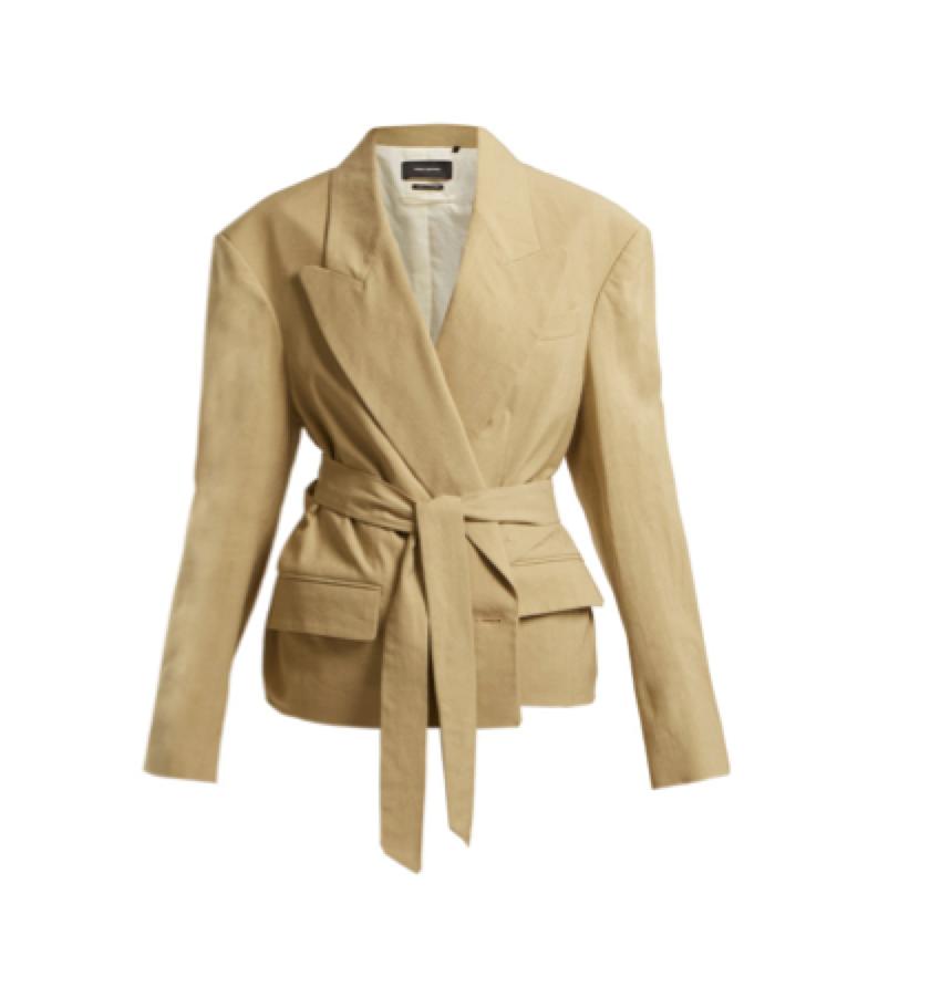 Isabel Marant -  wrap blazer