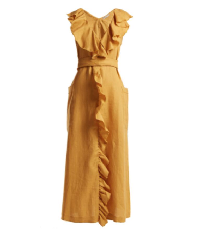 Three Graces London -  ruffle dress