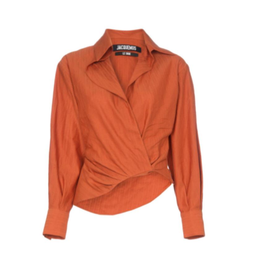 Jacquemus -  wrap shirt