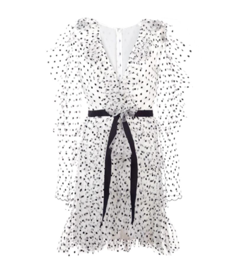 Philosophy Di Lorenzo -  spot ruffle dress