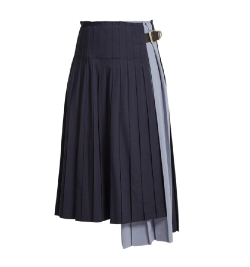 Toga -  pleated skirt