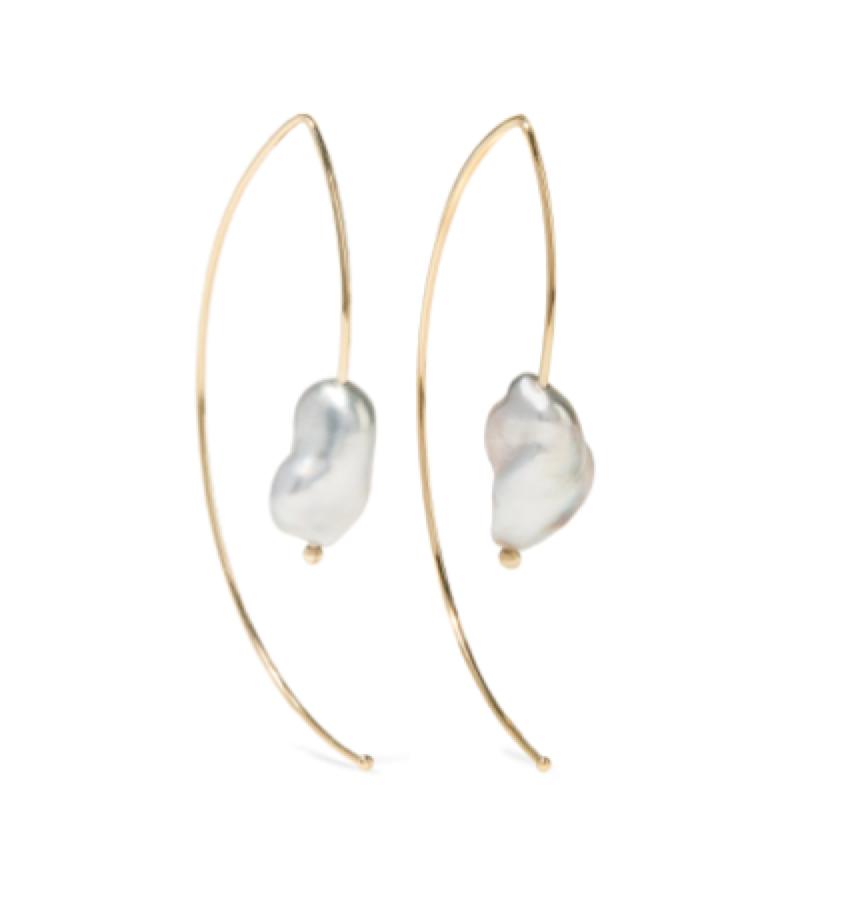 Mizuki -  pearl earring