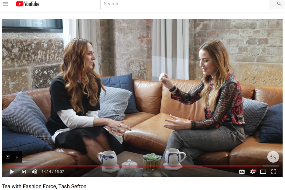"""Click to watch my interview with Jules Sebastian """"Tea With Jules"""""""