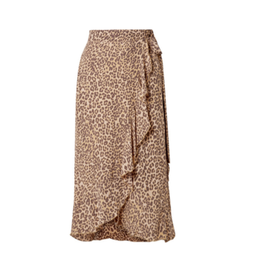 Faithful the brand -  Animal print skirt
