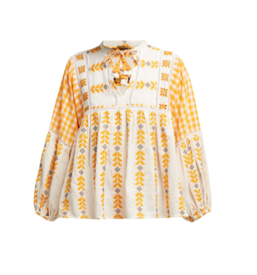 Dodo Bar Or -  Embroidered Shirt