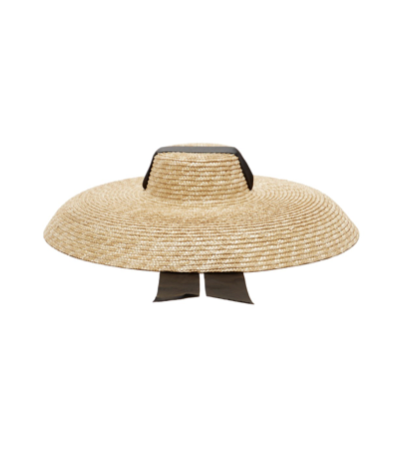 Eliurpi  -  Oversized straw hat