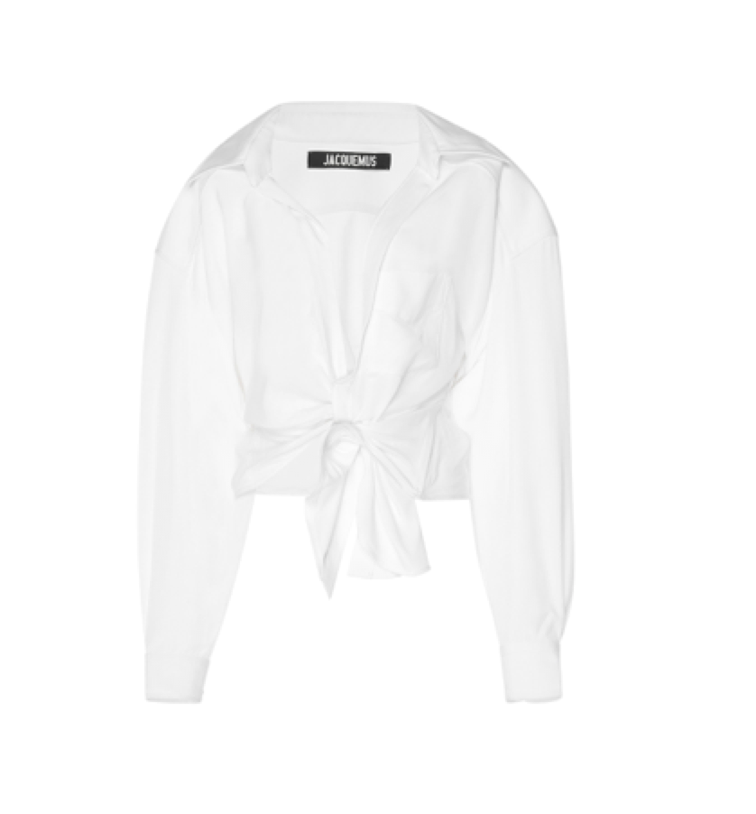 JACQUEMUS  - Oversized Cotton-Blend Top