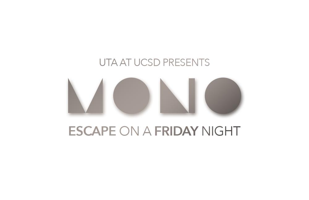 MONO Clubbing Event Logo