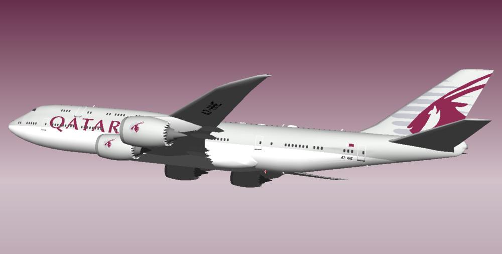Qatar Amiri Flight 748