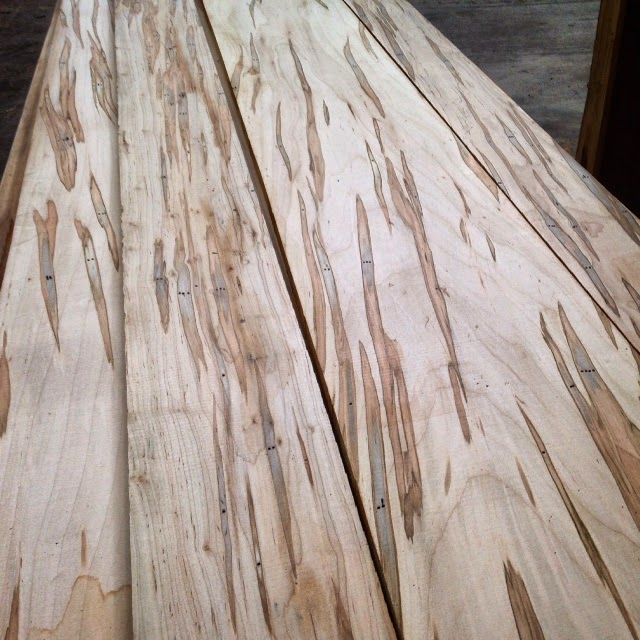 Ambrosia Maple - Acer SaccharumLike Birdseye Maple, Ambrosia Maple is not a distinct species of maple, but rather another type of figured Hard Maple. The name