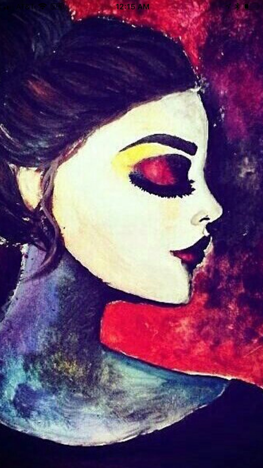 Artwork - This artist focused on color and texture to express her personality. Looking at this artwork, what would you speculate about her?
