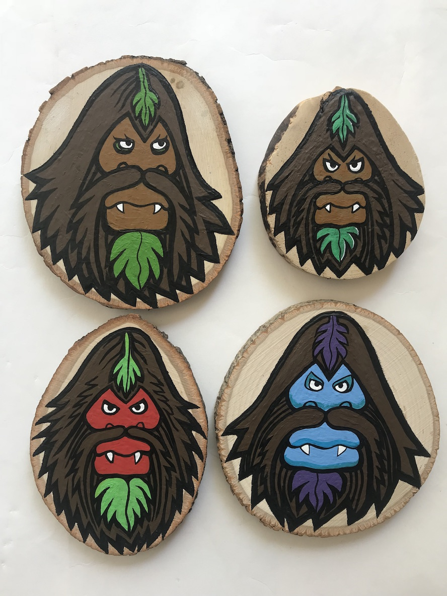 Mountain Gods & Forest Demons by Bigfoot at Woot Bear 3.jpg