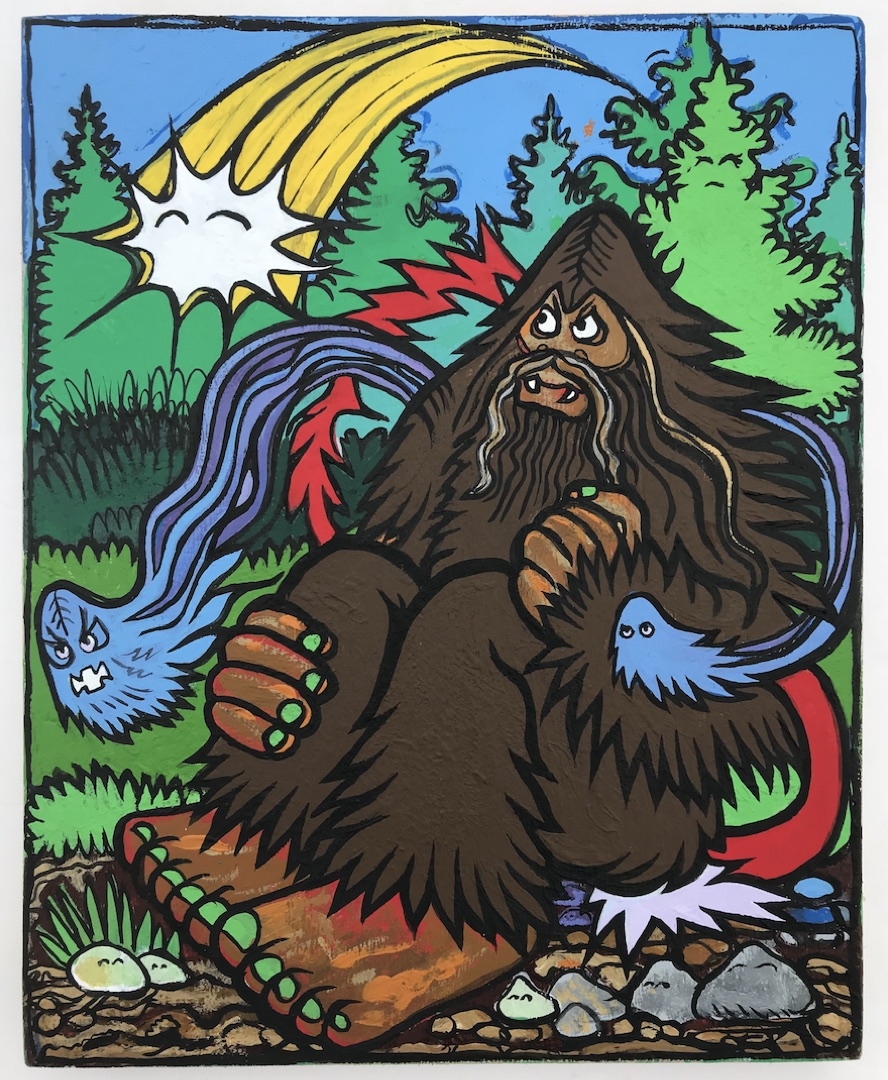Mountain Gods & Forest Demons by Bigfoot at Woot Bear 2.jpg