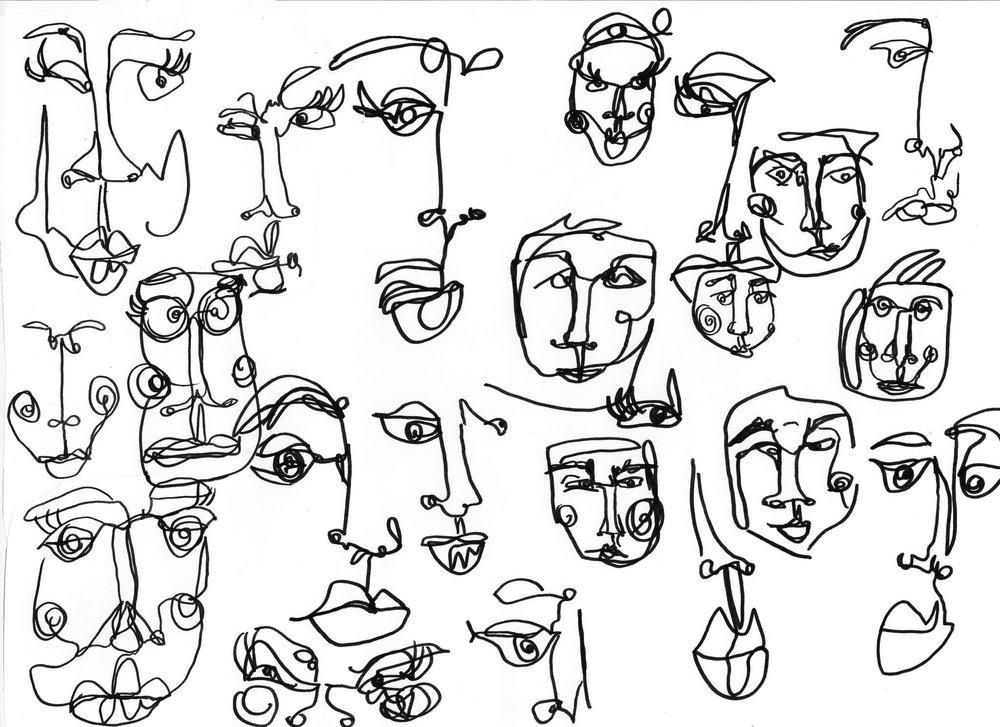 Google Eyed, Drawing, 2017