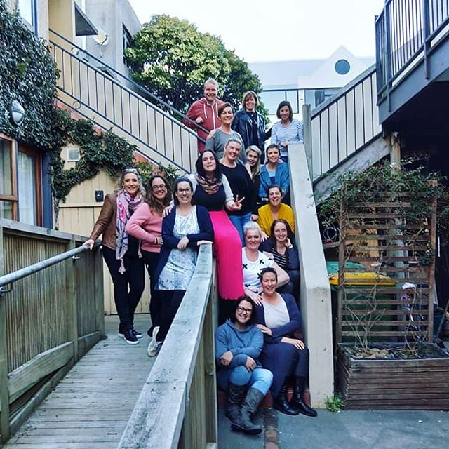 This weekend was our annual Glitter conference and a bunch of us spent 3 days in Wellington eating, laughing, drinking, talking, collaborating, supporting, and doing karaoke. Find your tribe and love them hard!! #communityovercompetition