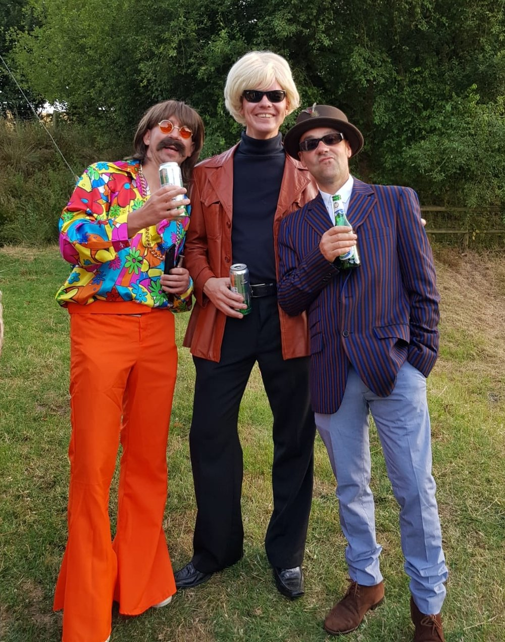 And three chumps ready to party likes it's err 1968.