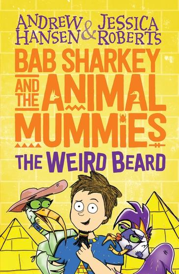 91 - Bab Sharkey and the Animal Mummies - the Weird Beard by Andrew Hansen and Jessica RobertsWhen twelve-year-old Bab Sharkey finds a magical beard in the Egyptian desert, it attaches itself to his face, making him the Pharaoh and granting him strange powers.Bab also finds the friends he's always needed: a pair of undead animals wrapped in bandages called Scaler the Fish Mummy and Prong the Ibis Mummy.But the previous owner of the Beard, the ancient and evil sorceress the Unpharaoh, is determined to get it back. Can Bab and his new Animal Mummy friends banish the Unpharaoh back to the Afterworld?Award-winning Australian comedian Andrew Hansen, best known for The Chaser, has teamed up with his wife, designer Jessica Roberts, to create their very first children's book series.  Jessica and Andrew are heading to Bendigo and will be talking to kids on Friday for Text Marks the Spot, then joining Astrid Edwards from The Garret podcast on Saturday to talk about how they teamed up to create Bab Sharkey. There's a special Sunday event with Jessica and Andrew too: we'll announce that on June 6.