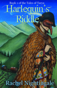 87 - Harlequin's Riddle by Rachel NightingaleHarlequin's Riddle is the first book in the Tales of Tarya trilogy. It follows Mina as she tries to uncover the fate of her brother, Paolo. He vanished after joining the travelling players, so Mina decides she will join them to uncover clues to his whereabouts.She soon discovers their creativity is drawn from an otherworldly realm known as Tarya. As she learns the art of improvised theatre, her own unique gifts become apparent. Tarya is a place of dreams, wonder and magic.But the more Mina uncovers, the more she begins to see there is a dark side to the players' art.  Rachel Nightingale will be launching the second book in her Tarya trilogy at Bendigo Writers Festival, on Sunday August 12.