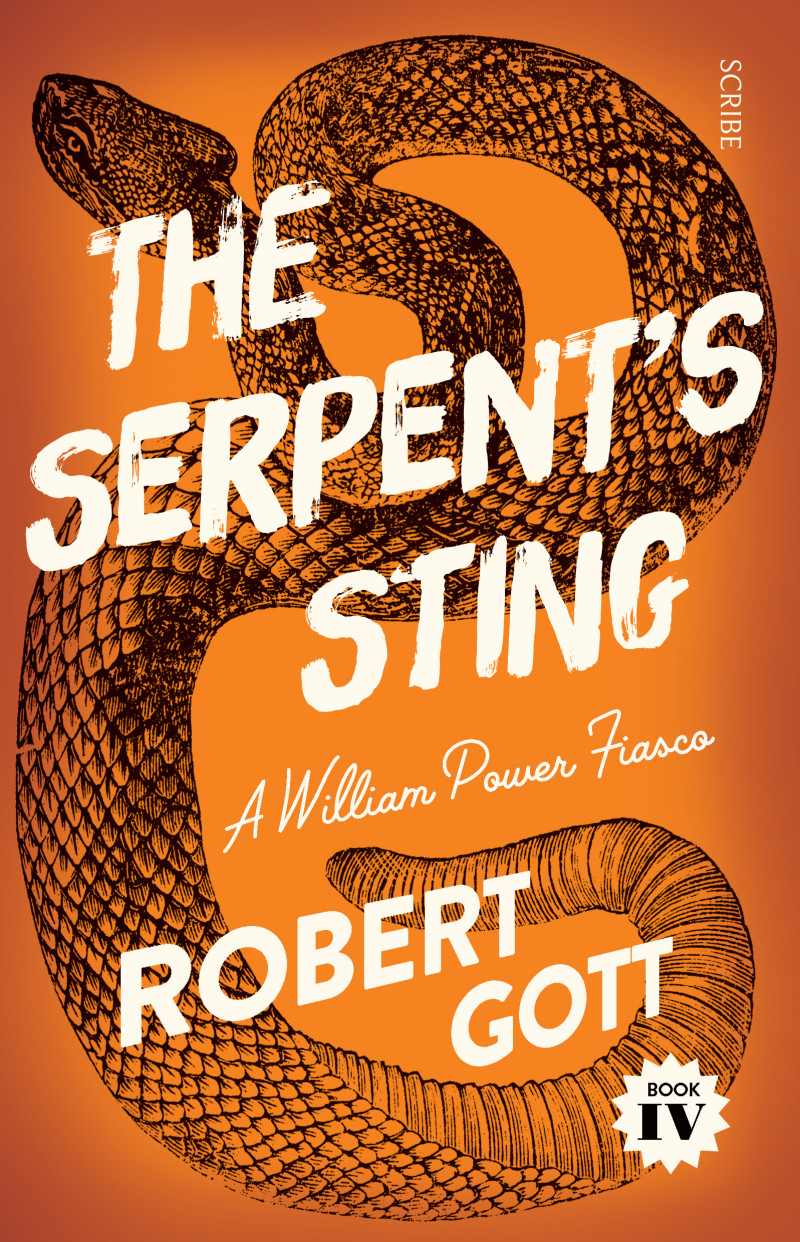 81 - The Serpent's Sting by Robert Gott William Power, actor and sometime private inquiry agent, has returned from the Northern Territory, shaken, stirred, and generally discombobulated. 'I survived the tropics with my life and my looks intact, despite the best efforts of the flora, fauna, and Military Intelligence to steal both from me.' It is late 1942, and in what he believes is a demeaning sideshow to the war, he finds himself playing a pantomime dame. If only this was his only worry, but, as his great hero, Shakespeare, noted, 'When sorrows come, they come not single spies, but in battalions.' Can Will finally overcome his tendency to be the living embodiment of Murphy's Law? Robert Gott was wonderfully popular at Festival 2017, so it wasn't difficult to find an excuse to ask him back. Stay tuned for the announcement of a very special event scheduled for Sunday August 12, and in the meantime, ponder why Robert's