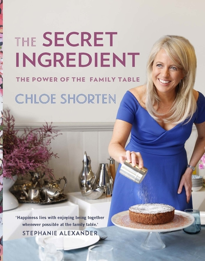 78 - The Secret Ingredient by Chloe ShortenWith treasured recipes, Chloe Shorten shows how eating together as a family offers more than a meal: it can nourish relationships and nurture your children. Chloe reveals ways to encourage the connections we make at the family table. She shares her tried-and-true recipes passed down from family, friends and neighbours across Australia: her mum Dame Quentin Bryce's popular eggplant parmigiana, icon Wendy McCarthy's perfect roast chicken and a chocolate cake so divine it was served in restaurants. The Secret Ingredient invites you to bring the remarkable power of the family meal into your home. More food for thought, and just as delicious. If your memories of the family table are mostly