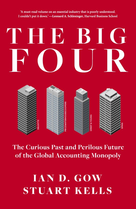 29 - The Big Fourby Stuart KellsAcross the globe, the so-called Big Four accounting and audit firms – Deloitte, PricewaterhouseCoopers, Ernst & Young, and KPMG – are massively influential. Together, they earn more than US$100 billion annually and employ almost one million people. In many profound ways, they have changed how we work, how we manage, how we invest and how we are governed.Stretching back centuries, their history is a fascinating story of wealth, power and luck. But today, the Big Four face an uncertain future – thanks to their push into China; their vulnerability to digital disruption and competition; and the hazards of providing traditional services in a new era of transparency.Both colourful and authoritative, this account of the past, present and likely future of the Big Four is essential reading for anyone perplexed or fascinated by professional services, working in the industry, contemplating joining a professional services firm, or simply curious about the fate of the global economy.What this book description doesn't tell you is anything about the extraordinary writer, Stuart Kells. He's the man who wrote a surprising history of the Lane brothers, who founded Penguin Books. He's also written about Shakespeare, and, in his capacity as a rare book dealer, about the magic of libraries. So, do not be surprised when you discover this book about accountancy in the global age is riveting.