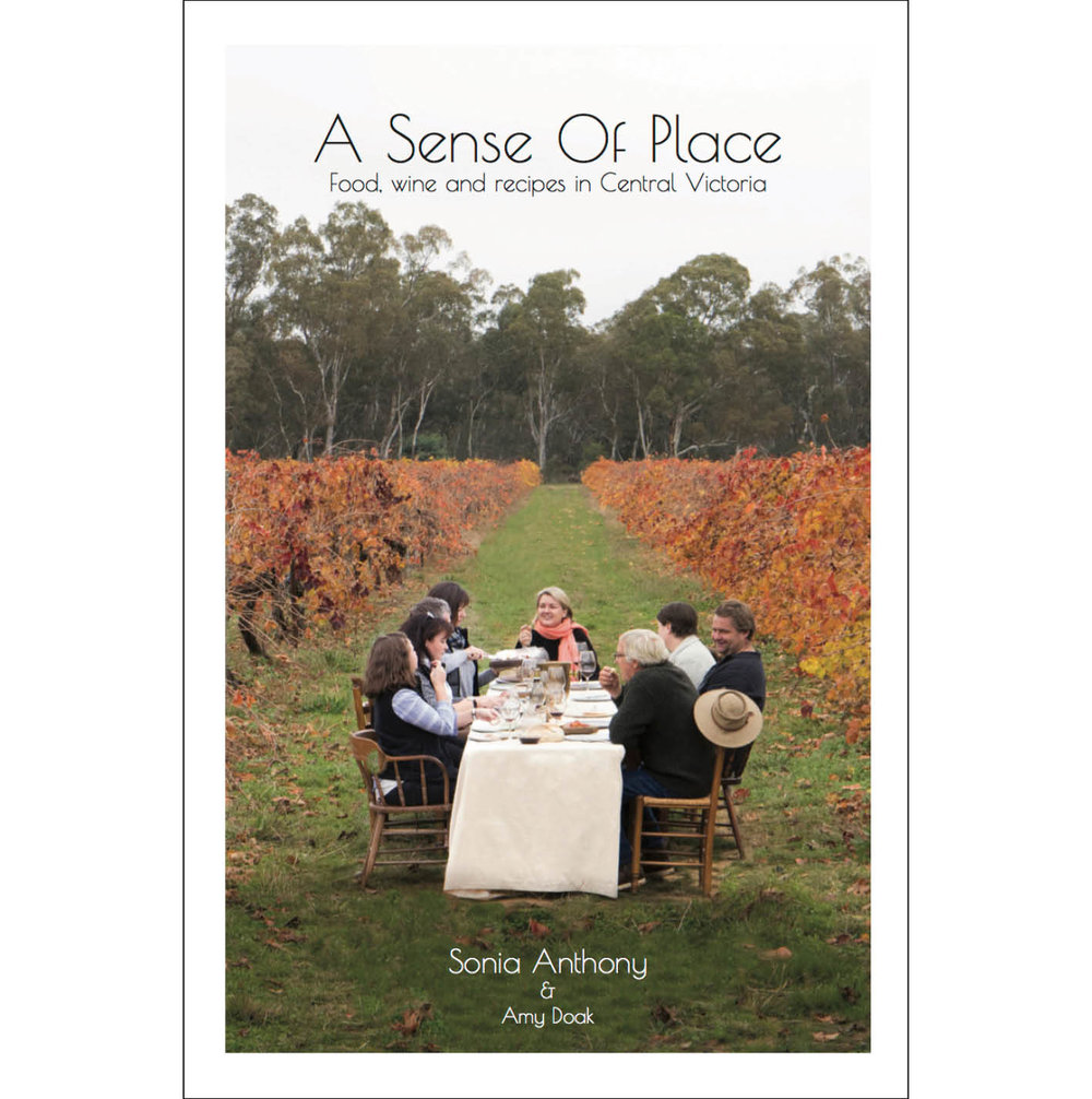 22 - A Sense of Placeby Sonia AnthonyThis gorgeous publication was launched last year at Bendigo Writers Festival.Sonia Anthony, from Masons of Bendigo, worked with Amy Doak in Bendigo, to create a browser-book full of information and recipes, about the producers of Central Victoria.With her exuberant, friendly, knowledgeable style, Sonia gets her hands dirty and fossicks with the people who are passionate about food. From paddock to plate has become something of a cliche now, but this is the real thing. Working together, these producers have built Bendigo's name to become a strong regional focus for sustainable culinary excellence.We'll be continuing that conversation about Edible Bendigo on Sunday 12 August, 10am, with Sonia, Jennifer Alden, Meg Caffin, Trevor Budge, and Prue Mansfield. Topics include - can Bendigo become a City of Gastronomy?