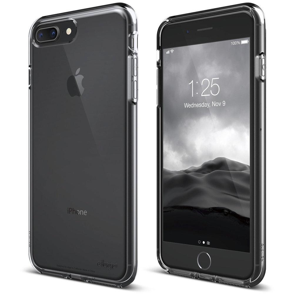 cd5146fc74 Cushion case for iPhone 8 Plus / iPhone 7 Plus - Crystal Clear — elago