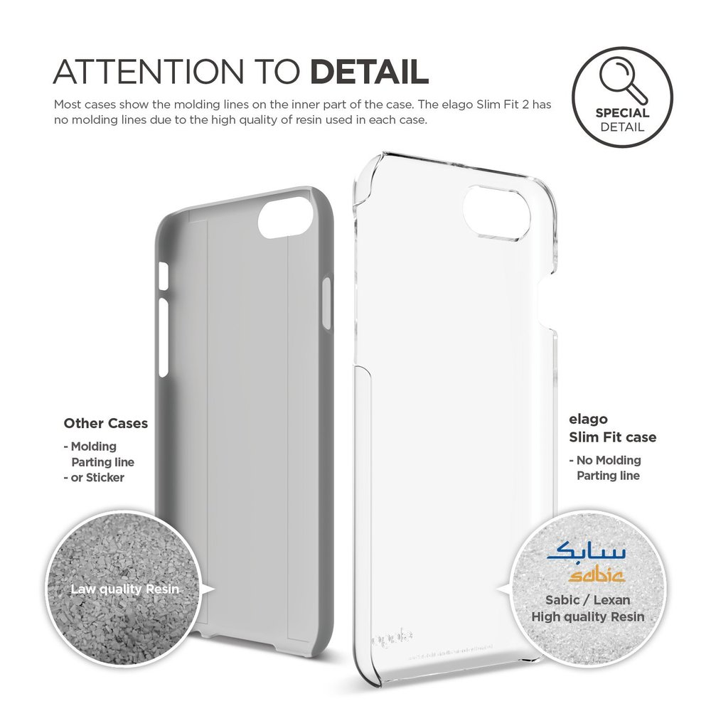 Slim Fit 2 Case for iPhone 8 - Crystal