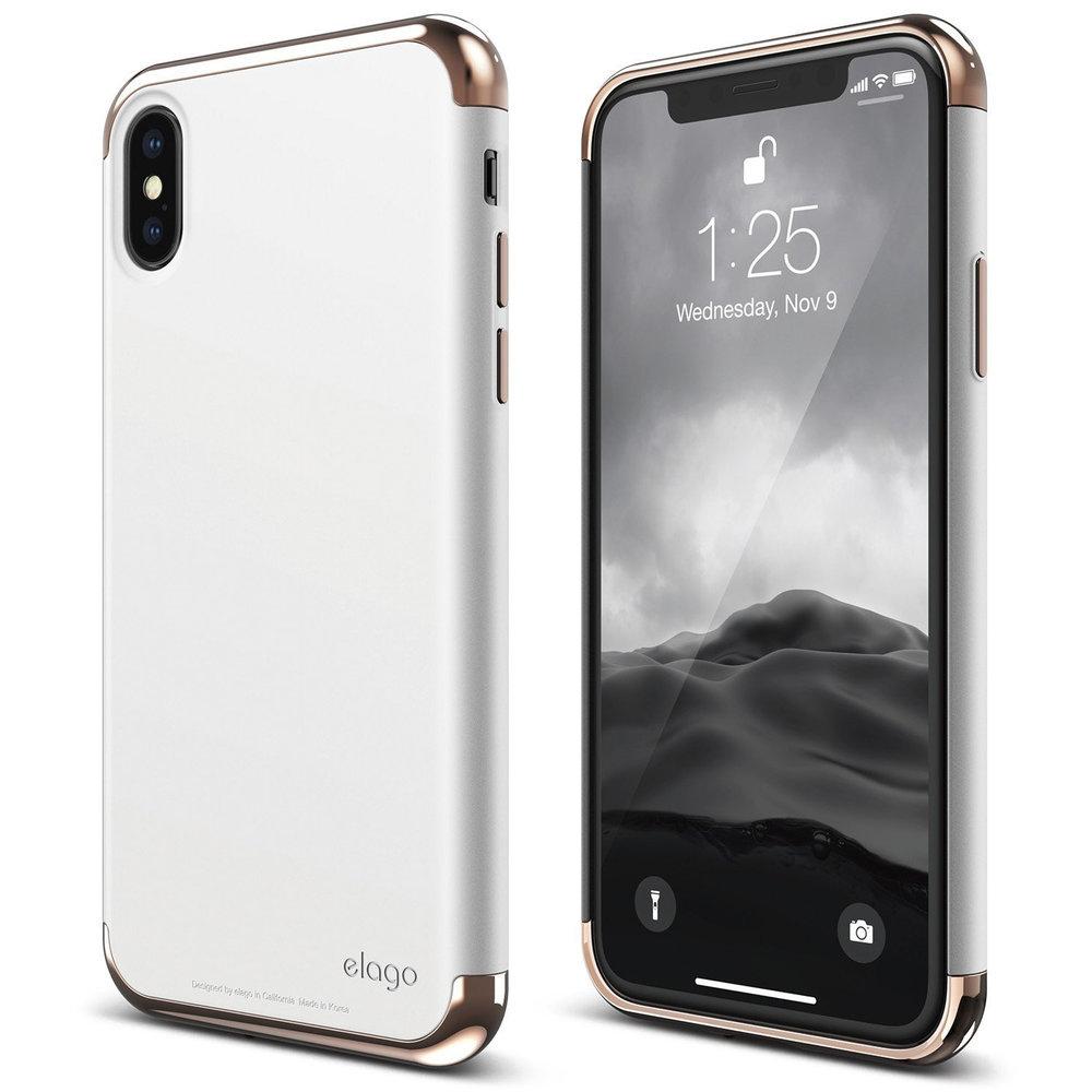 Empire Case For Iphone X Rose Gold White Elago