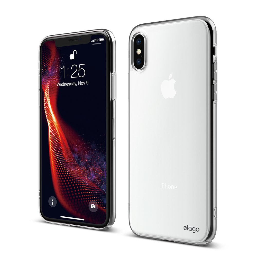 2c560f23cc71 Slim Fit Case for iPhone XS - Crystal Clear — elago