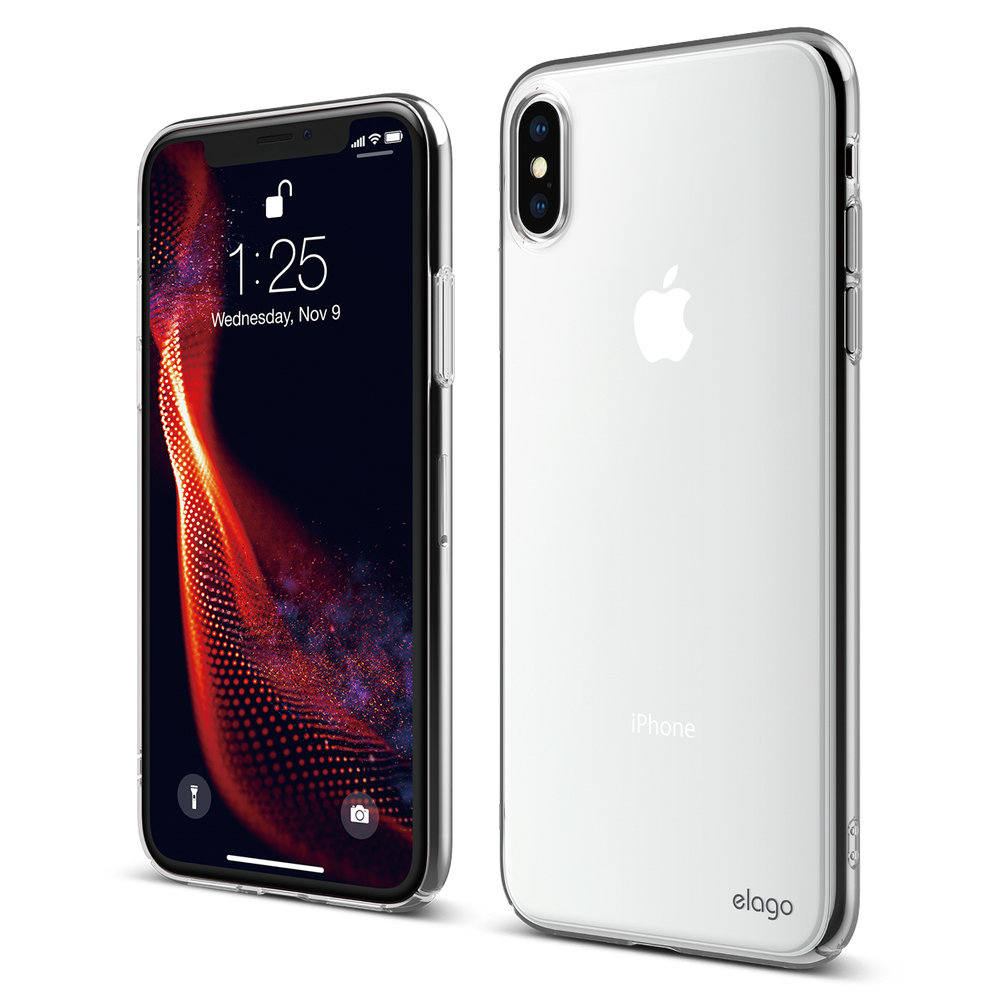 Slim Fit Case For Iphone Xs Max Crystal Clear Elago