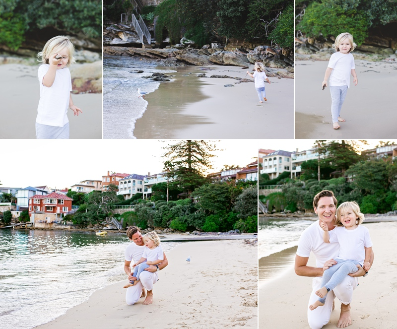 family photography beach maternity session