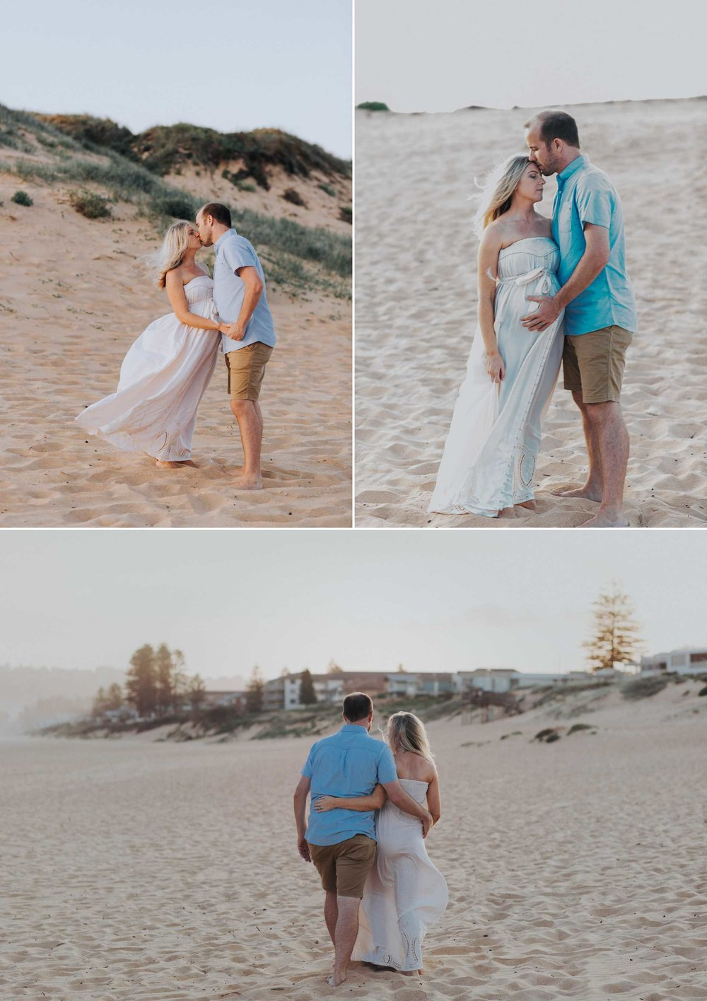 Narrabeen Beach Sunset Maternity images