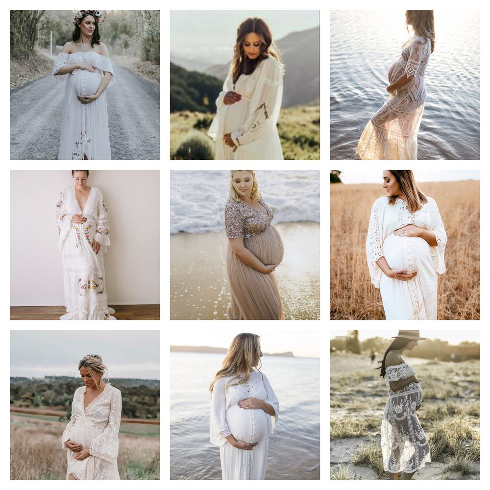 Dresses from Mama Rentals
