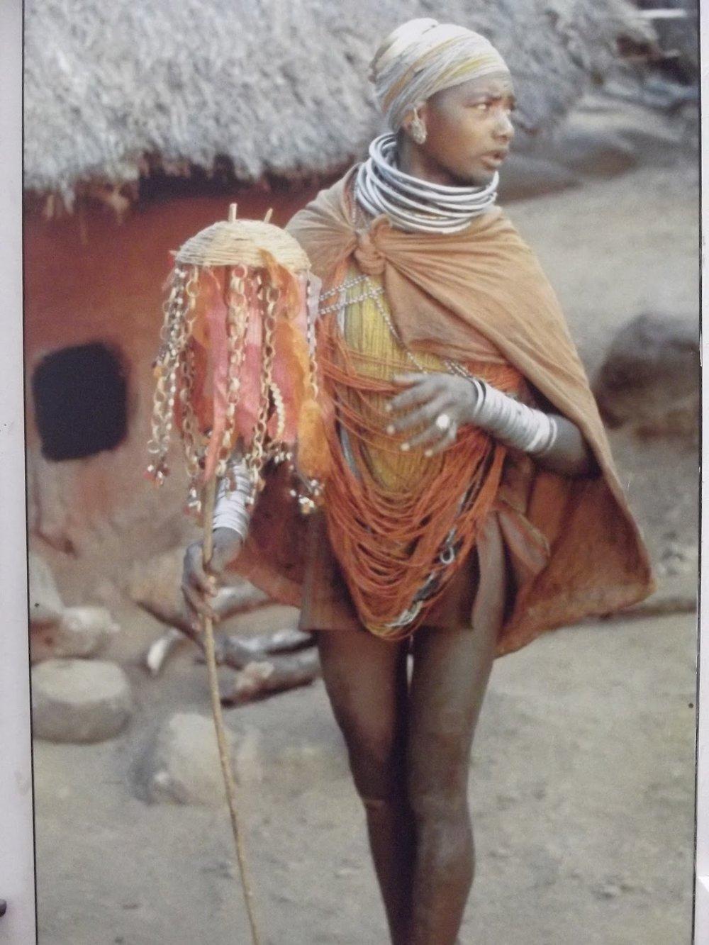 Traditional Bonda Attire. Image courtesy: IGRMS